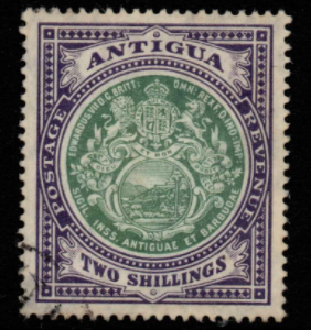 Antigua SG 50 Fine Used Stamps, Antigua Fine Used Stamps,