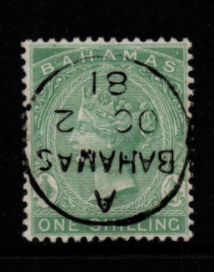 Bahamas SG 39b Fine Used Stamps, Bahamas Fine Used Stamps