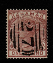 Bahamas SG 57 Fine Used Stamps, Bahamas Fine Used Stamps
