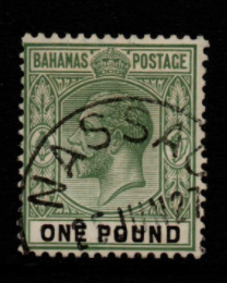 Bahamas SG 125 Fine Used Stamps, Bahamas Fine Used Stamps