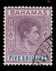 Bahamas SG 156 Fine Used Stamps, Bahamas Fine Used Stamps, Robstine Extra Stamp Dealer,