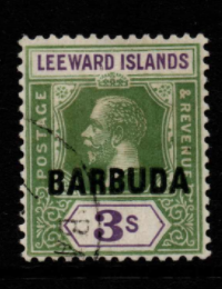 Barbuda SG 7 Fine Used Stamps, Barbuda Fine Used Stamps, Robstine Extra Stamp Dealer
