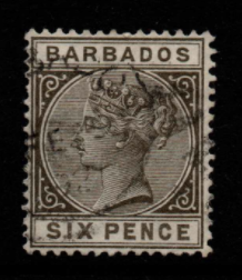 Barbados SG 100 Fine Used Stamps, Barbados Fine Used Stamps,