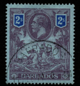 Barbados SG 179 Fine Used Stamps, Barbados Fine Used Stamps,