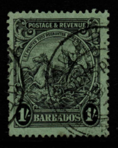 Barbados SG 237a Fine Used Stamps, Barbados Fine Used Stamps,