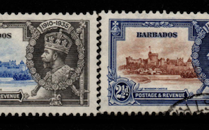 Barbados SG 241-244 Fine Used Stamps, Barbados Fine Used Stamps,