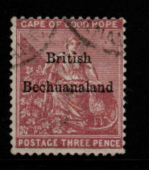 Bechuanaland SG 2 Fine Used