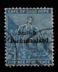 Bechuanaland SG 3 Fine Used
