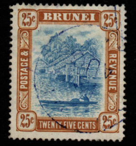 Brunei SG 30 fine used