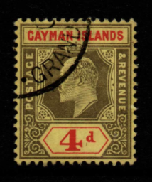 Cayman Islands SG 29 fine used