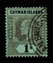 Cayman Islands SG 33 fine used
