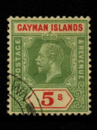 Cayman Islands SG 51 fine used