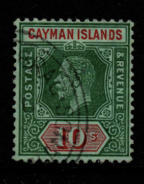 Cayman Islands SG 52b fine used