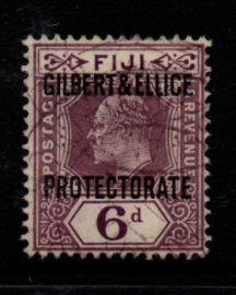 Gilbert and Ellice Islands SG 6 fine used