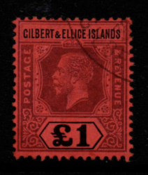 Gilbert and Ellice Islands SG 24 fine used