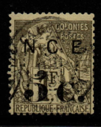 French Cols-New Caledonia SG 12 fine used