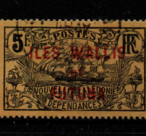French Cols-Wallis and Futuna SG 17 fine used