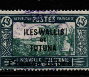 French Cols-Wallis and Futuna SG 107a fine used