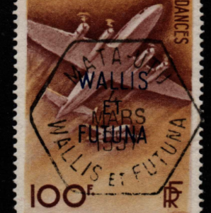 French Cols-Wallis and Futuna SG 158 fine used