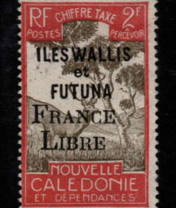 French Cols-Wallis and Futuna SG D137 fine used