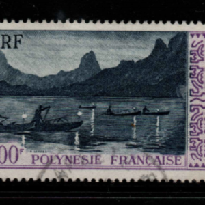 French Polynesia SG 16 fine used