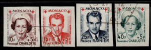 Monaco singles from MS409 fine used