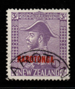 Cook Islands SG 92 fine used