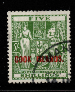 Cook Islands SG 132 fine used