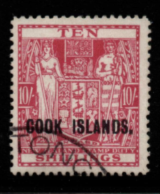 Cook Islands SG 133 fine used