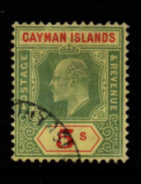 Cayman Islands SG 32 fine used
