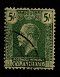 Cayman Islands SG 82 fine used