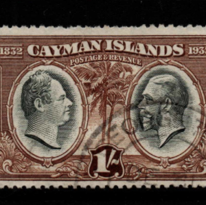 Cayman Islands SG 92 fine used