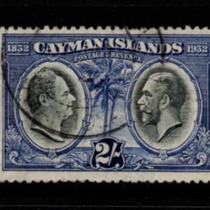 Cayman Islands SG 93 fine used