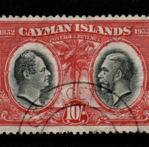 Cayman Islands SG 95 fine used
