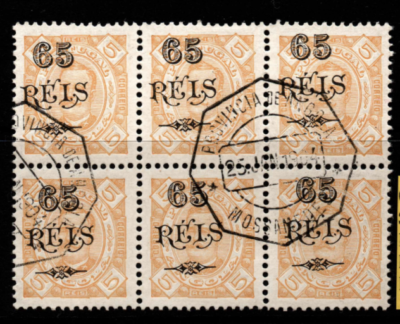 Portuguese Colonies-Angola SG 98 in block of 6 fine used
