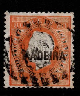 Portuguese Colonies- Madeira SG 36 fine used