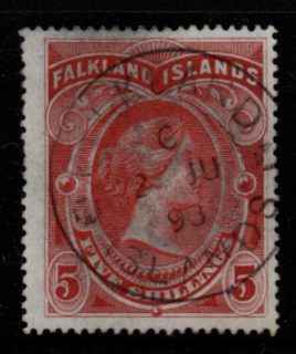 Falkland Islands SG 42 fine used
