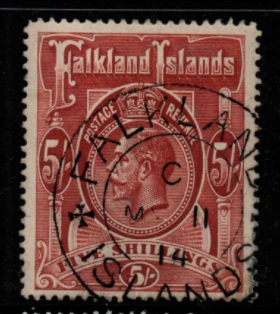 Falkland Islands SG 67 fine used