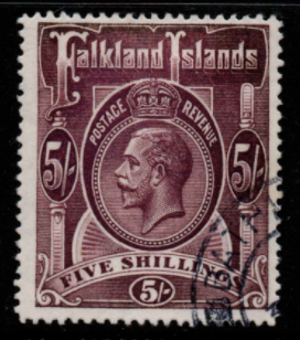 Falkland Islands SG 67b fine used