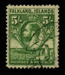 Falkland Islands SG 124 fine used