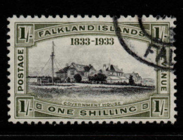 Falkland Islands SG 134 fine used