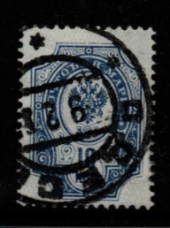 Russia SG 70a, background omitted, fine used