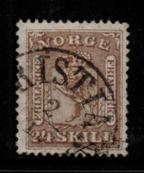 Norway SG 18 fine used