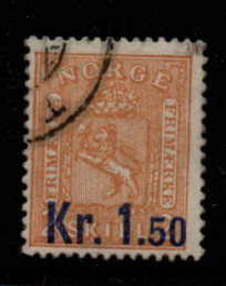 Norway SG 123 fine used