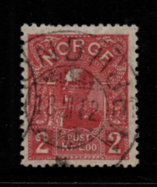 Norway SG 132 fine used