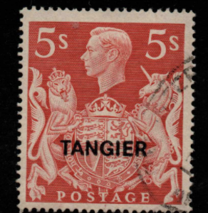 Morocco Agencies-Tangier SG 274 fine used