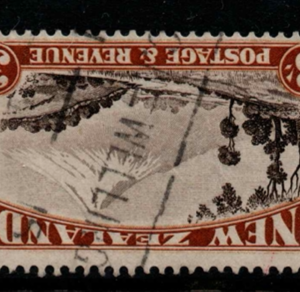 New Zealand SG 590aw inverted watermark fine used