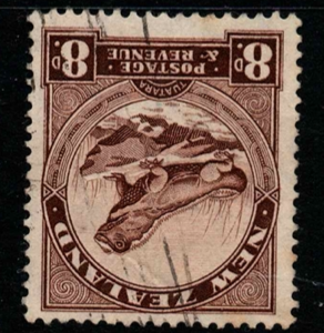 New Zealand SG 586dw inverted watermark fine used