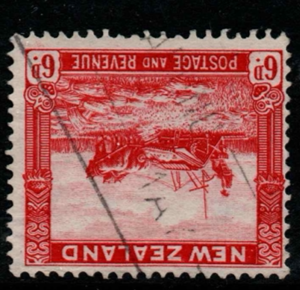 New Zealand SG 585aw inverted watermark fine used