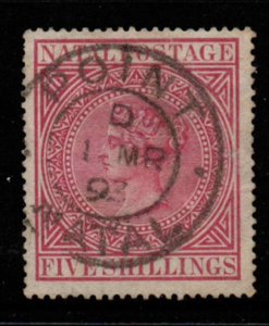 South Africa-Natal SG 72 fine used